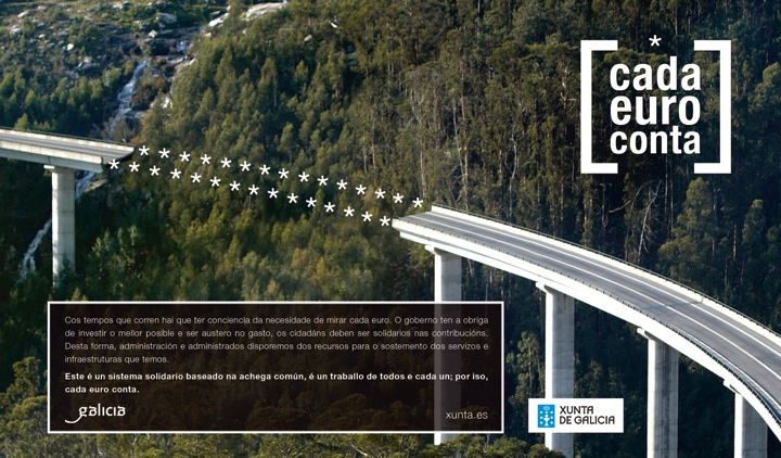 A Xunta reserva dous millóns para propaganda no inicio do ano electoral