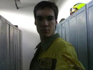 Cristóbal Medeiros, membro da Brif de Laza