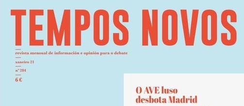 SUMARIO TEMPOS NOVOS 284 · XANEIRO 2021
